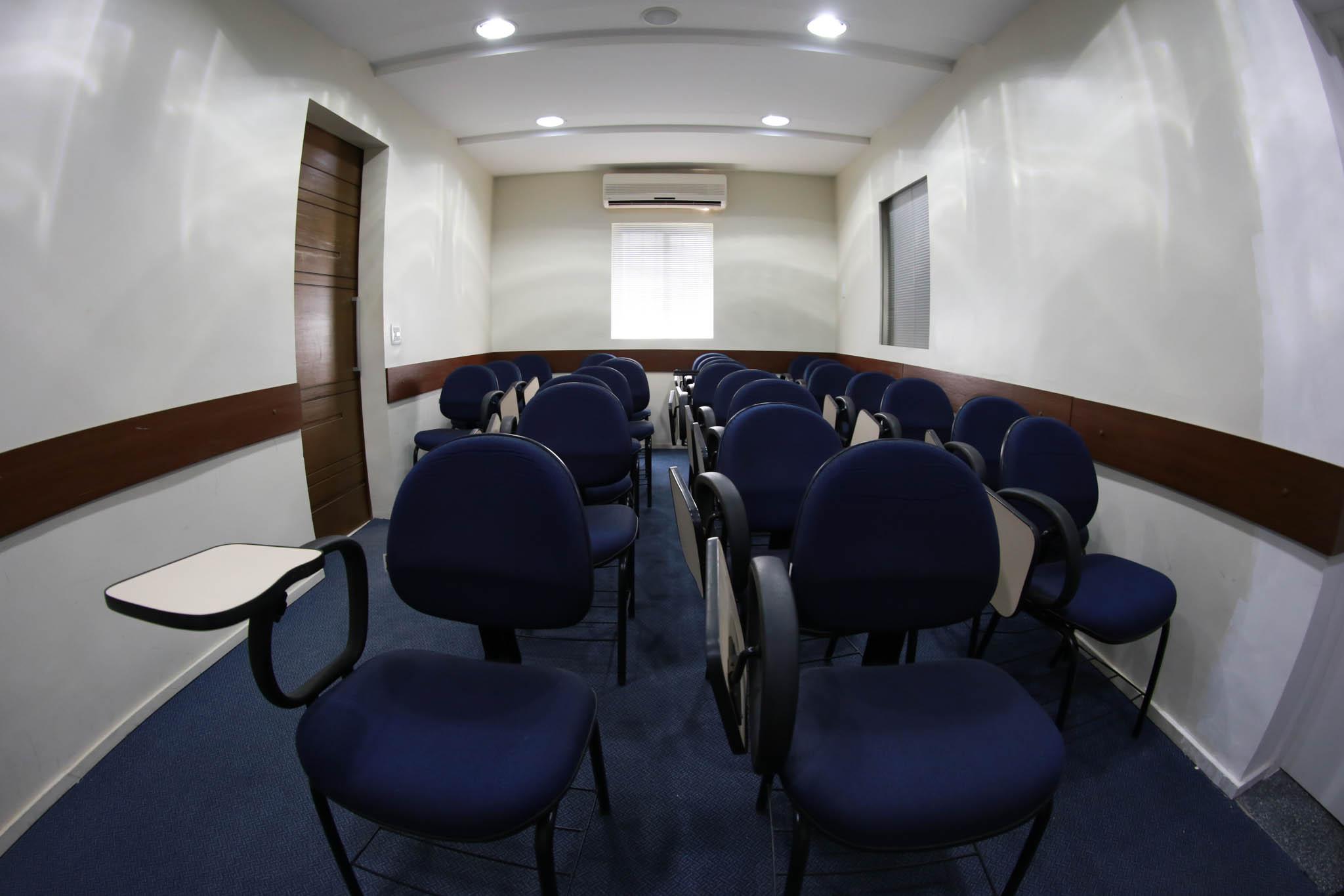Auditório para aulas e reuniões